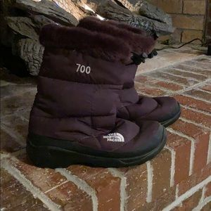 NorthFace snow boots -super cute!